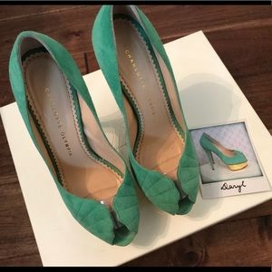 Authentic Charlotte Olympia Pump